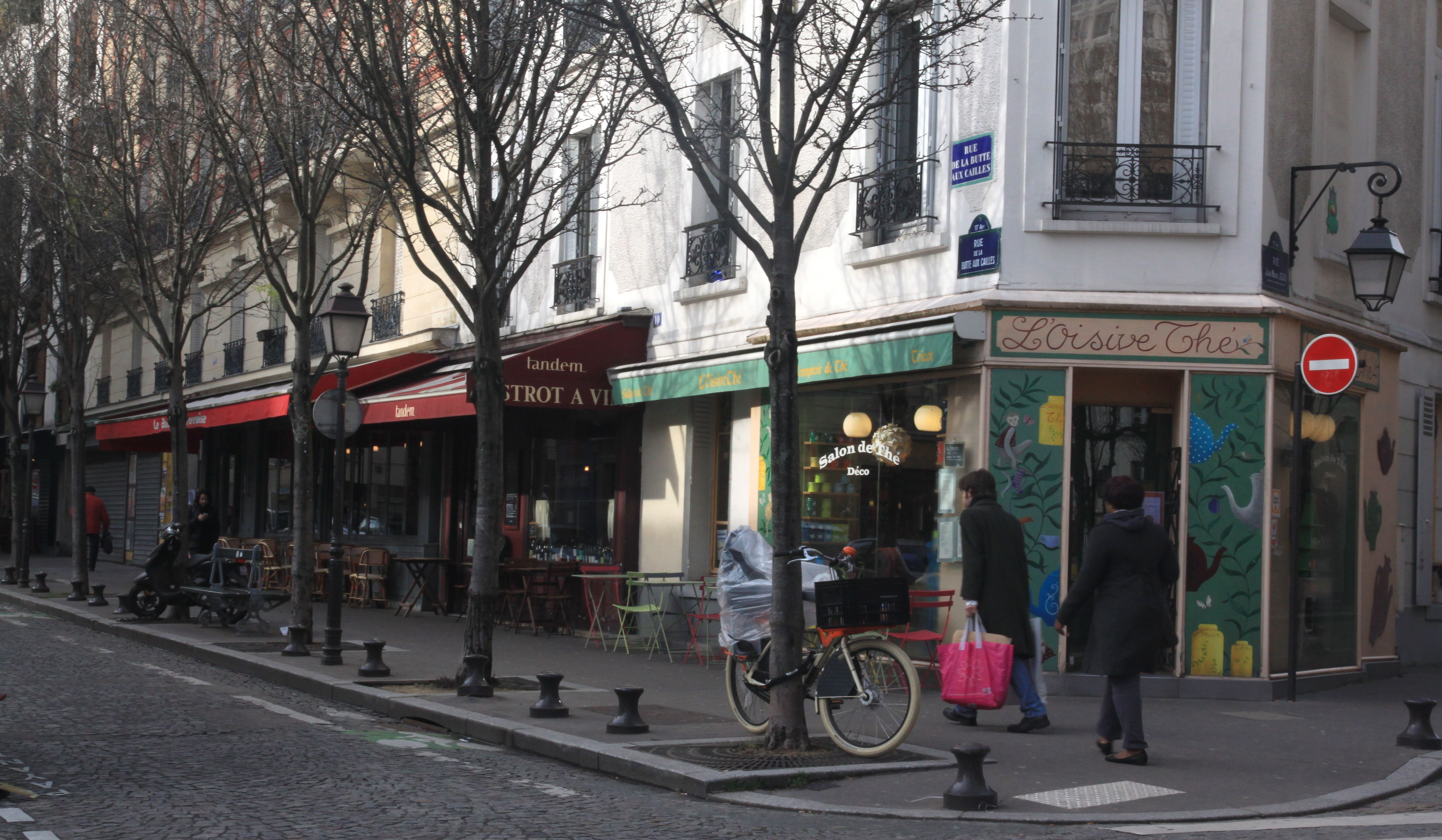 A french lesson at the butte aux cailles in the paris 13th - Restaurant butte aux cailles ...