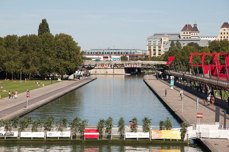 Image of the Parc de la Villette